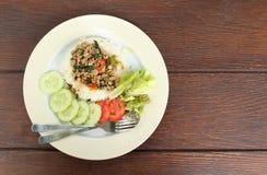 Thai cuisine royalty free stock photos