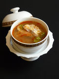 Thai cuisine, tom yam pla Stock Photography