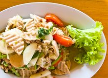 Thai cuisine yummy Royalty Free Stock Image