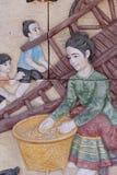 Thai cultural sculpture 2 Stock Images