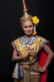 Thai Cultural Show Stock Image