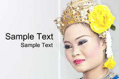 Thai Cultural Show Royalty Free Stock Photos