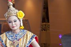 Thai Cultural Show. Khon-Thai classical masked ballet , Thailand. Ramayana stock photo