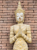 Thai culture molded figure Royalty Free Stock Photos