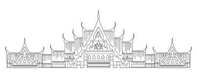 Thai culture symbol Royalty Free Stock Photography