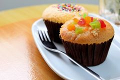 Thai cup cake Royalty Free Stock Photo