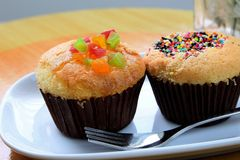 Thai cup cake Royalty Free Stock Image