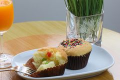Thai cup cake Royalty Free Stock Photography