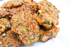 Thai Curried Fish Cake Stock Images