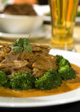 Thai curry beef Stock Image