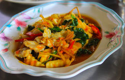 Thai curry with coconut shoots. In thailand Stock Images