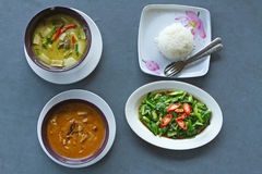 Thai curry food Royalty Free Stock Photo