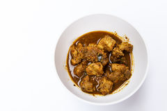 Thai curry with pock 2 Royalty Free Stock Photo