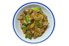 Thai curry with pork Stock Image