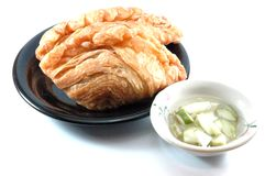 Thai curry puff Stock Photos