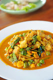 Thai curry with spicy Stock Images