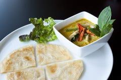 thai currymatroti Royaltyfri Bild