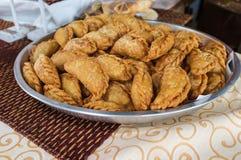 thai currypuff Royaltyfri Fotografi