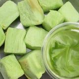 Thai custard bread Stock Photo