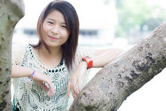 Thai cute woman Stock Photography