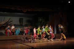 Thai dance. Nongnooch Garden at Chonburi, Thailand Stock Image