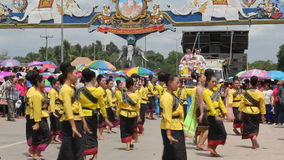 Thai dance stock video footage