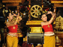 Thai dancer Royalty Free Stock Image