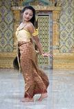Thai dancer Stock Photo