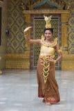 Thai dancer Royalty Free Stock Photo