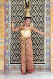 Thai dancer Royalty Free Stock Photo