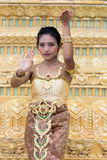 Thai dancer Stock Image