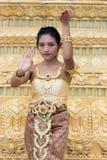 Thai dancer Stock Image
