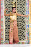 Thai dancer Royalty Free Stock Images