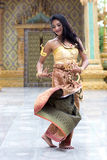 Thai dancer Stock Images