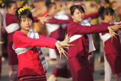 Thai dancer festival Stock Photography