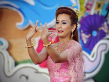 Thai Dancer Stock Photography