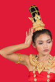 Thai lady Royalty Free Stock Image