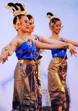 Thai dancers Stock Photo