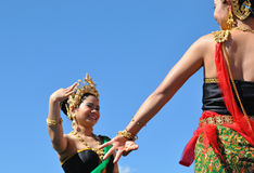 Thai Dancers Royalty Free Stock Images
