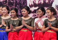 Thai Dancers Royalty Free Stock Photo