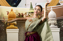 Thai dancers Stock Photography