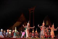 Thai dancing Stock Images