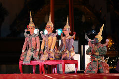 Thai dancing Stock Image