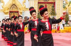Thai dancing performance Stock Image