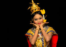 thai dans Arkivbilder