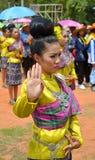 thai dans Royaltyfria Bilder