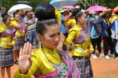 thai dans Royaltyfri Fotografi