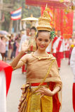 thai dansare Royaltyfria Bilder
