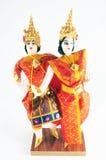 thai dansdockastil Fotografering för Bildbyråer