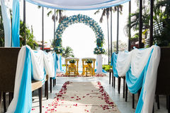 Thai decorate wedding Stock Images